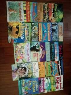 Children educational readers $0.50 each