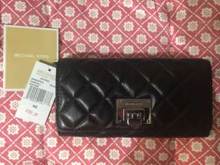 Michael Kors Quilted Leather Wallet - Brandnew
