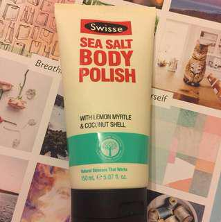 Swisse Sea Salt Body Polish