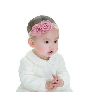 Cute Children Hair Accessories Baby Flower Headband Elastic Hair Band