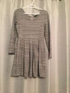 Grey jersey dress from aritiza