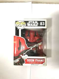 Funko POP STAR wars Sidon Ithano Mini Figure