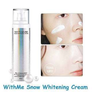 With Me Snow Whitening Cream