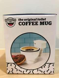🚚 Bigmouth toilet coffee mug/ fun gift