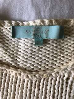 Sambag White Knit