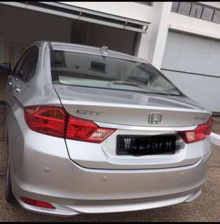 Honda City E spec