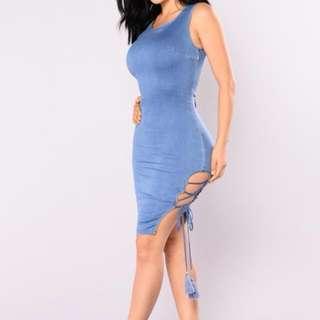 Fashion Nova Ambrosia Dress