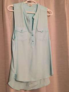 Aritzia button up tank