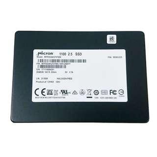 Micron 2 TB SSD hard disk