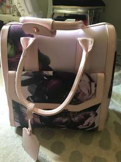 Ted baker two wheel travel bag