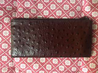 Fino brown leather wallet
