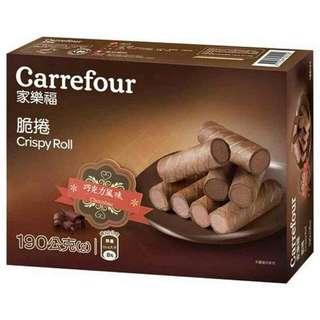 巧克力風味脆捲