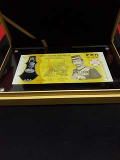 $50 brunei anniversary for accession to the throne of his majesty sultan brunei