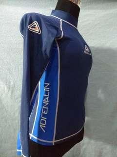 Swimwear rashguard long sleeve ADRENALIN size 16