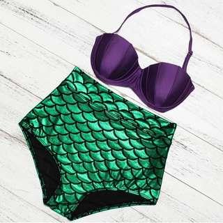 Mermaid 2 piece swimsuit 🐳