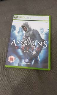 Assassin Creed Xbox 360 game