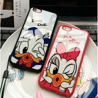 Donald iphone 5 5s 6 7 8 plus acrilyc case