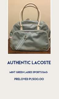 Mint Green Sports Bag Preloved