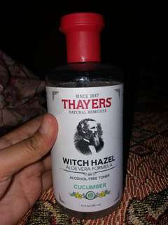 Toner alami THAYERS WITCH HAZEL (cucumber)
