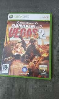 Rainbox Six Vegas 2 Xbox 360
