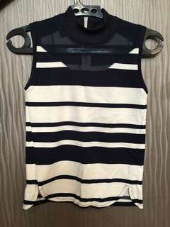 MDS Stripped Blouse size S