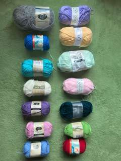 Yarns clearance sale