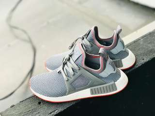 Adidas NMD XR1 Grey / Solar Red