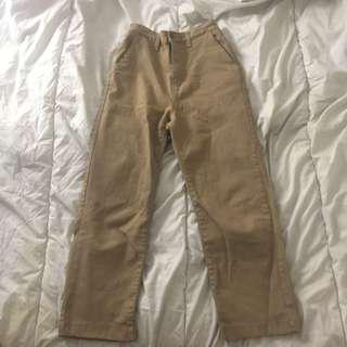 OAK+FORT BEIGE PANTS
