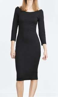 ZARA Pencil dress in S