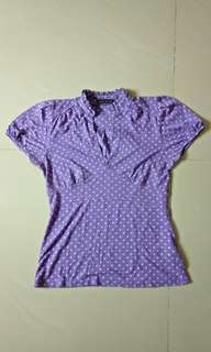 Polkadot T-shirt by Zara