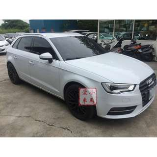 2014 Audi A3 1.4 白 FB收尋:小馬愛車
