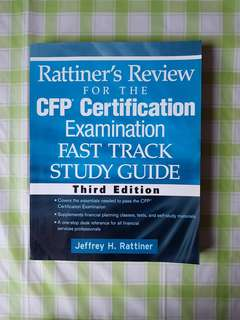 Rattiner's Review for the CFP Certification Examination Fast Track study guide Third Ed