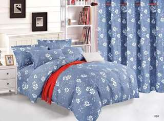 6 in 1 Set Bedsheet