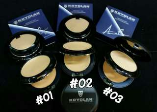 Kryolan black case foundation