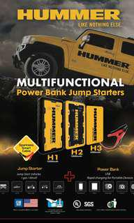 HUMMER H3 JUMP STARTER PACK