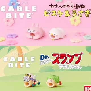 預購 (代購)日本cable bite 新款  IQ博士 小雲小吉 P助兔兔
