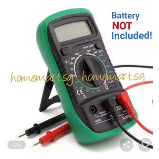 Brand New LCD Digital Multimeter AC/DC Voltmeter - Battery ❎ included