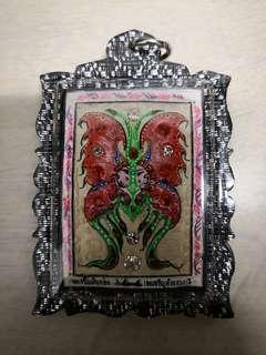 Kruba Krissana 2 pcs Butterfly Amulet