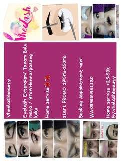 eyelash Ext Home servise Promo