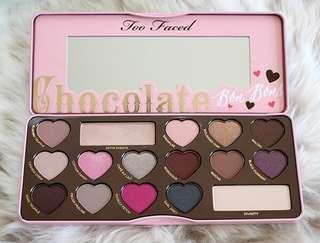 Chocolate bon bon palettes