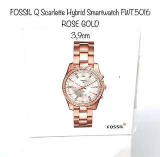 FOSSIL Q Scarlette Hybrid SmartwatchROSE GOLD 3,9cm