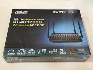 ASUS Wifi Dual Band Router RT-AC1200G+