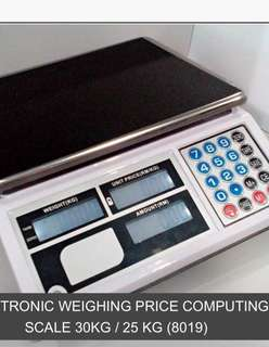 Digital Weighing Scale+License Stamping