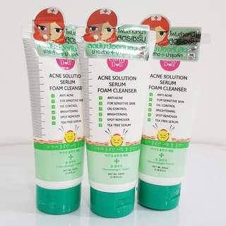 Cathy Doll Acne Solution Serum + Foam Cleanser 100ml