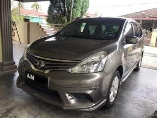 Nissan Grand Livina 1.6 (A)