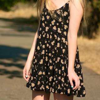 Brandy Melville Jada Dress Sunflowers