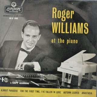 Vinyl At The Piano - Roger Williams