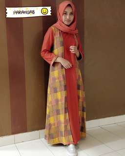 Gamis cotton high super quality