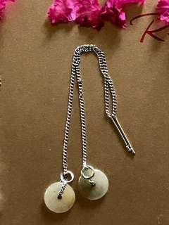 🚚 翡翠耳環