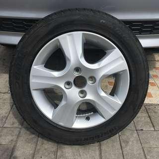 OEM Honda Jazz Mags Spare Delium Tires